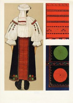 Tarnave, Transilvania Folk Costume, Costumes, Folk Embroidery, Medieval Clothing, Barbarian, Romania, Goth, Popular, Traditional