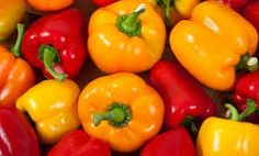 Bell Peppers contain plenty of vitamin C, which powers up your immune system and keeps skin youthful.  The highest amount of Vitamin C in a bell pepper is concentrated in the red variety.