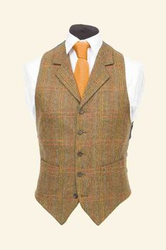 Walker Slater make the best tweed waistcoats