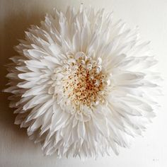 Tiffanie Turners giant paper flowers