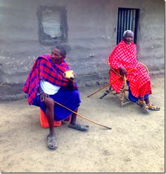 Masai Village #Tanzania #Africa http://traveleatlove.com/2015/03/a-day-in-a-maasai-village/