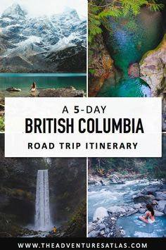 The Perfect British Columbia Road Trip Itinerary. Featuring the best of Br… The Perfect British Columbia Road Trip Itinerary. Featuring the best of British Columbia, including Joffre Lakes, Squamish, Whistler + Tofino British Columbia, Langley British Columbia, Victoria British Columbia, Columbia Travel, Pacific Coast Highway, Sea To Sky Highway, Canada Vancouver, Vancouver Travel, Vancouver Island