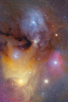 Rho Ophiuchi and Antares with FSQ-106ED and Reducer QE 0.73x April 2011 Saturation Elevated Light Version