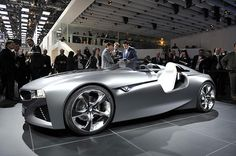 BMW Vision ConnectedDrive from 2012 Geneva Motor Show: Z1 Style doors & 3-D augmented heads-up display.