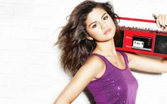 #hd #selena_gomez Sexy and #hot Wallpaper. http://alliswall.com/hollywood-actresses/selena_gomez_with_vintage_tape_recorder