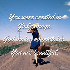 You are created in Gods image. Not anybody else's.
