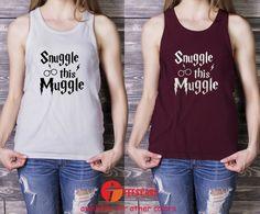 snuggle muggle, Harry Potter tank top-349-for Men Tank Top, Ladies Tank Top, Adult Tank Top - TeesCase