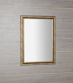 ROMINA zrcadlo v dřevěném rámu 580x780mm, bronzová patina : SAPHO E-shop Bronze, Mirror, Retro, Shop, Furniture, Home Decor, Decoration Home, Room Decor, Mirrors