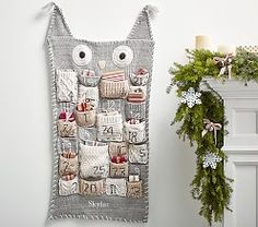 Countdown to Christmas with Pottery Barn Kids' advent calendars. Shop our knit Christmas advent calendars and make it a yearly tradition. Crochet Christmas Gifts, Christmas Gifts For Kids, Christmas Knitting, Christmas Cats, Holiday Crafts, Christmas Ideas, Homemade Christmas, Christmas Projects, Holiday Fun