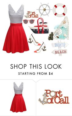 """""""It's all about the ship!"""" by penelopepoppins ❤ liked on Polyvore featuring amaicimei"""