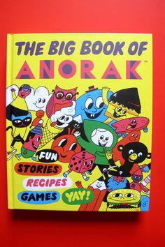 The Big Book of ANORAK! On sale in our shop here: http://shop.anorakmagazine.com/product/the-big-book-of-anorak