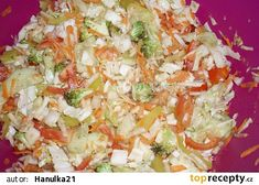 Zimní vitamínová bomba recept - TopRecepty.cz Potato Salad, Cabbage, Grains, Rice, Potatoes, Vegetables, Ethnic Recipes, Food, Diet