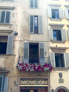 Balcony in Florence.