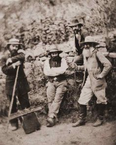 Paul Cézanne [center] with Camille Pissarro [right]  ©Copyright reserved, Ashmolean Museum, Oxford