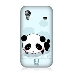 Amazon.com: Ecell - HEAD CASE BLUE SWEET DREAMS KAWAII PANDA BACK CASE FOR SAMSUNG GALAXY ACE S5830: Cell Phones & Accessories