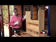 ¿Cómo hacer un ropero-escritorio infantil para dormitorio? - YouTube