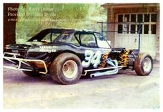 The day after one of the first races for this car. Oh...the car is a heavily modified Chevy Corvair body, draped over a tubular chassis. Engine was a 427 Big Block Chevy with Hilborn fuel injection running on straight Methanol (the fuel).