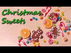 Miniature Gingerbread House & Christmas Candy Tutorials - Creating Dollhouse Miniatures