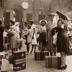 U.S. Old Penn Station in NYC, 1942