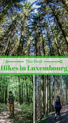 The best hikes in Luxembourg. If you're someone who loves the outdoors and nature then hiking in Luxembourg should be on the top of your list to visit in Europe. Click to read more at http://www.divergenttravelers.com/hiking-in-luxembourg/