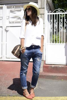 The Simply Luxurious Life®: Style Inspiration: A White Summer outfit