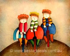 Kids Oil Paintings, Great Price A Value For Your Money. Get it here http://bestartdeals.com.au