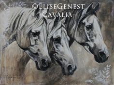 Élise Genest - Cavalia collection