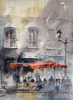 Tony Belobrajdic: Paris Caffee