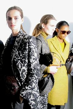 LFW: Paul Smith Autumn/Winter 2014, Backstage Beauty (Vogue.com UK)