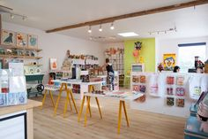 I Have A Crush On You is a gift shop meets gallery meets workshop that found its first home in Liberty Village at the end of May.