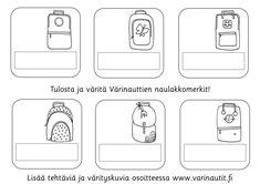 Koulu - Värinautit School Stuff, Container, Kids, School Supplies, Children, Boys, Children's Comics, Boy Babies, Canisters