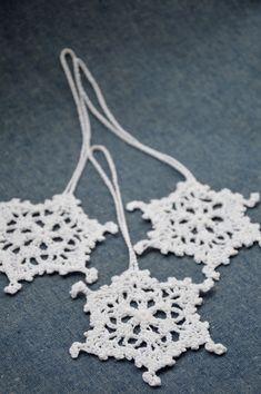Christmas ideas - crochet Snowflakes