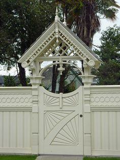 Garden Gate to One of the Grand Old Victorian Ladies in Eureka, CA