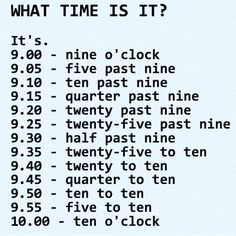 What's the time now? (What time is it? Everyday English, English Time, English Course, Learn English Words, English Phrases, English Idioms, English Writing, English Study, English Lessons