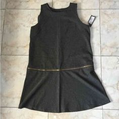 """Gray dress In excellent condition. Never been worn. Made of polyester, rayon and spandex. Length 36"""" Mossimo Supply Co Dresses High Low"""
