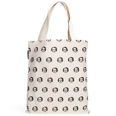 "Poe-ka Dots Tote Bag (get it!?) hee hee! by ""out of print"""