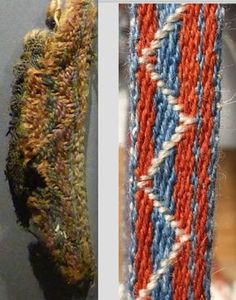 Reconstruction of the tablet woven band from Reykjasel i Jökuldal by Aisling