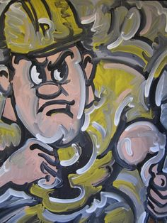 Purdue Pete Painting