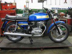 Ducati 350 Mk3 after restoration