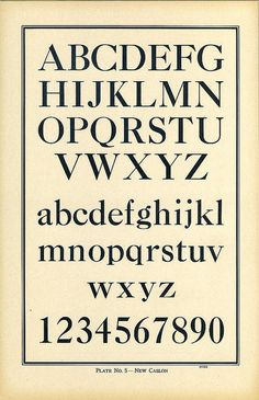 Dunwich Type, New Caslon type specimen. This makes me think of the time that it was made for; stiff, rigid, and proper years. #ProperFont #ExactType Repinned from Pinterest