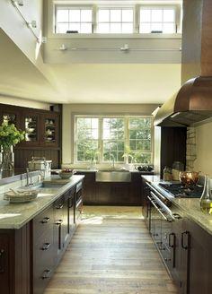 NKBA Award Winning Best Cabin Open Plan Kitchen Design