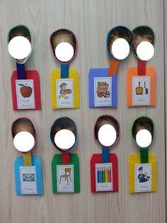 Classroom job chart using pictures Classroom Jobs Display, Classroom Attendance, Classroom Job Chart, Montessori Classroom, Autism Classroom, Kindergarten Classroom, Classroom Organization, Classroom Decor, Classroom Management