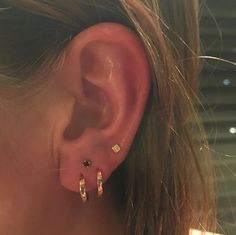 """There's more to consider than the initial pain. """"You can get the piercings and walk out of the studio and feel great, but you may not understand that you have another five months of taking care of these — it's a responsibility,"""" he explains. #refinery29 http://www.refinery29.com/2016/10/126285/body-piercing-constellation-la-trend-photos#slide-7"""