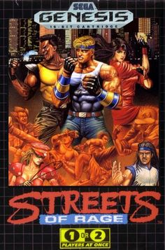 I used to rent a Genesis (or Mega Drive in my part of the world) regularly and the Streets of Rage games were a great reason to do so.