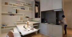 BOX IN, rénovation d'un appartement par Elodie Bonnet Architecte - Journal du Design