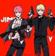 Jimin & Taehyung Fanart | ♡