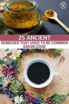 25 Ancient Remedies That Used To Be Common Knowledge - Before the twentieth century--and even as far back as ancient Egypt--people had all sorts of all-natural herbal remedies for common ailments. In this article, we'll take a look at 25 remedies for things like cuts, burns, aches, pains, heartburn, infections, upset stomachs, diarrhea, and much more. #allnatural #naturalremedy #homeremedy #remedy