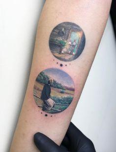 Tarkovsky/Zerkalo Tattoo