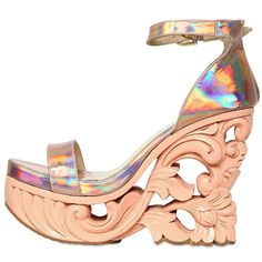 Sculpted Platforms Are Shaping to Be a Big Trend This Spring~These are a cool $750~