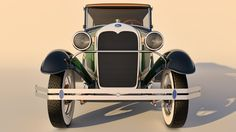 1930 Ford Model A Phaeton by SamCurry